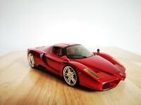Hot Wheels 1/18 Scale Ferrari Enzo Candy Red Diecast Model Car