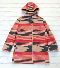 80% OFF: Missoni Pre-Fall '11 £1700 Hooded Short Knit Coat w/Dustbag IT40/UK8-10