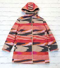 75% OFF: Missoni pre-Autunnale'11 £ 1700 in Maglia con cappuccio cappotto corto con dustbag IT40/UK8-10