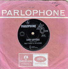 BILLY THORPE & The AZTECS Love Letters / Dancing In The Streets 1965 OZ 45