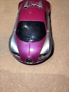 SCALEXTRIC Bugatti Veyron DPR Purple over silver Good Cond