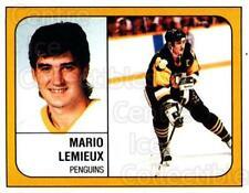 1988-89 Panini Stickers #340 Mario Lemieux