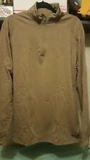 LOT OF 3 NEW XGO Almost Perfect Phase 4  UPF 50+ Zip Mock thermal Shirt  ,L,XL,