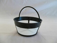 NEW Nylon Mesh 8 to10 cup BASKET SHAPE PERMANENT COFFEE FILTER Reusable