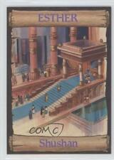 1989 re-Ed Bible Cards Esther #2 Shushan Non-Sports Card 0q3