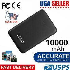 10000mAh Portable Power Bank USB Battery Charger For Cell Phone iPhone XR XS US