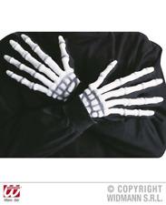 NEW Halloween   Halloween SKELETON GLOVES 3D