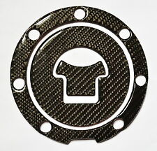 REAL CARBON FIBER GAS CAP COVER FOR HONDA VFR800X VFR800 X VFR 800 X CROSSRUNNER