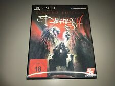 PS 3 SPIEL THE DARKNESS 2 II LIMITED EDITION mit POSTER PLAYSTATION 3