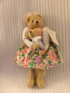 """Hallmark 13"""" Hyacinth & Cuddlesworth W/Tags Plush Stuffed Animals"""