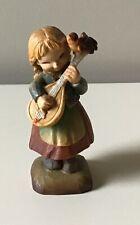 """Anri Ferrandiz 3"""" Melody For Two Wood Carved Figurine"""