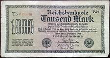 Germany Papiermark banknote - Weimar Republic - 1000 tausend mark - year 1922