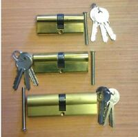 Yale style Euro Cylinder Strong Barrel Lock UPVC Door Aluminium Wood PVC Doors