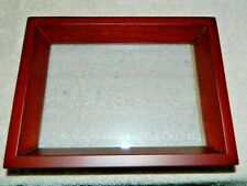 """Sanoma 4"""" X 6"""" Cherry Colored Wood Shadow Box Style Flush Mount Pitcher Frame"""