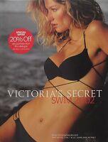 GISELE BUNDCHEN  Swim 2002 Vol. 2 No. 1 VICTORIA'S SECRET Catalog