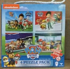 Paw Patrol 4 Puzzle Pack NEW