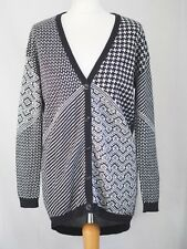 Cardigan 10 Black White River Island