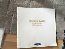 FORD GRANADA BROCHURE   1985