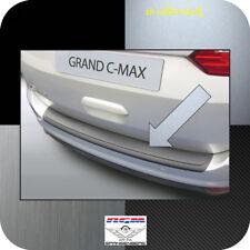 Exklusiv RGM Ladekantenschutz Silber-Look für Ford Grand C-Max Van ab 06.2015-