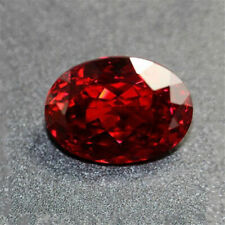 13.89CT Blood Red Ruby Unheated 12X16MM Diamond Oval Cut VVS Loose Gemstone Gift