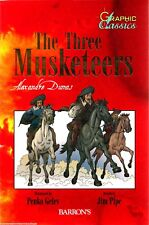 THE THREE MUSKETEERS New GRAPHIC CLASSICS Classic Literature NOVEL Dumas