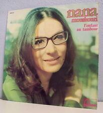 """33 tours Nana MOUSKOURI Vinyle LP 12"""" L'ENFANT AU TAMBOUR N°3 - FONTANA 885532"""