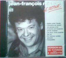 """JEAN-FRANCOIS MICHAEL - CD """"LE RETOUR"""""""