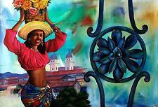 Original Art Painting Canvas Cuban  Artist  Arte Cuba ROBERTO MATOS TORRES 25