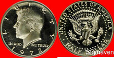 1972 S Kennedy Half Dollar Gem Proof No Reserve