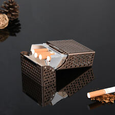 Aluminum Metal Cigar Cigarette Pocket Box Holder Creative Cigar Storage Case