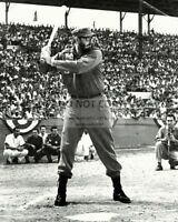 FIDEL CASTRO PLAYS BASEBALL IN HAVANA IN 1959 - 8X10 PHOTO (OP-029)