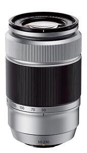 FUJIFILM  Telephoto Zoom Lens XC 50-230mm F4.5-6.7 OIS IIS Silver EMS w/Tracking