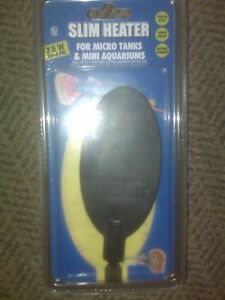 Hydor 7.5 watt Mini Heater for 2-5 gal Aquariums No Settings Needed Brand NEW!!!