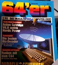 64er (64´er) 02/90 Februar 1990 C64 Commodore (Action Cartridge, Funken, BTX)