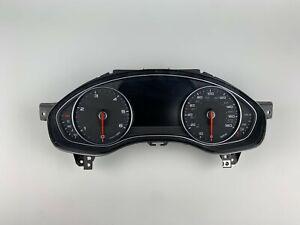 Audi A6 4g c7 MPH Speedometer Instrument Cluster Speedo Gauge Unit 4G8920984H
