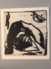jean pierre pincemin gravure lithographie art signé support surface EA