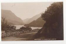 Entrance To Llanberis Pass 8992 Judges Vintage Postcard 808b