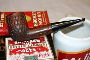 Jumbo Ehrlich Rusticated Billiard Vintage Estate Pipe Restored!