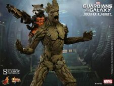 "Marvel GROOT & ROCKET Sideshow Figure 1/6 12"" Guardians of the Galaxy SOLD OUT"