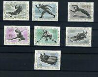 Österreich 1136-1142 Winterolympiade 1964, postfrisch ** #p851
