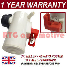 FOR HONDA CIVIC 1984-2003 FRONT SINGLE OUTLET WINDSCREEN WASHER FLUID PUMP