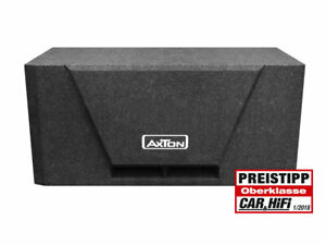 Axton ATB216 Piccolo Passa-Banda Subwoofer Bassi Box Alloggiamento Con 2 x 16cm