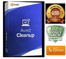 Avast Cleanup Premium 2017  License Key ,1Pc till june 2018