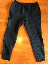 Men's Nike Tech Fleece Pants L Slim Fit Black Running Basketball