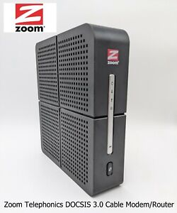 Zoom Telephonics DOCSIS 3.0 Cable Modem/Router with Wireless 3T3R AC