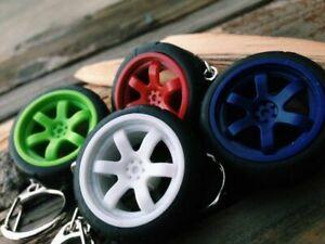 RAYS VOLK TE37 Wheel KEYRING Keyfob Key Chain