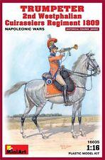 Trompette du 2ème régiment de Cuirassiers Westphaliens 1809 1/16 MiniArt
