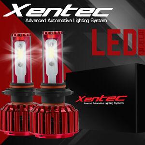 200W 20000LM XENTEC H4 9003 HB2 LED Headlight Kit High/Low Beam Head Fog Bulbs
