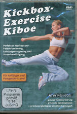 Kickbox Exercise Kiboe Perfekter Workout zur Fettverbrennung DVD NEU