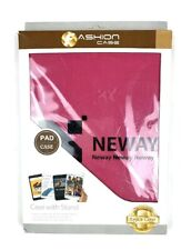 Neway- Pink Leather Fashion Case With Stand For iPad Air